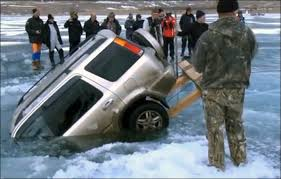 amazing siberian technique rescuing cars bottom ice