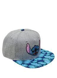 disney lilo u0026 stitch hawaiian print snapback hat topic