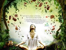 Home Based Graphic Design Jobs In Kerala by Kerala Tourism Ayurveda Campaign Presentation Ad On Behance
