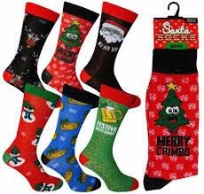mens christmas socks 1 pair mens christmas socks novelty socks from