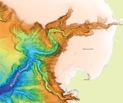 Grand Canyon On A Map Monterey Canyon Stunning Deep Sea Topography Revealed Mbari