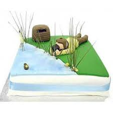 bird watcher cake for a birthday party with free delivery