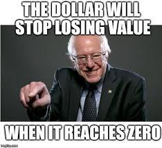 Economics Meme - bernie sanders learns economics imgflip