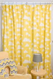 Yellow Blackout Curtains Nursery Yellow And White Curtains For Nursery 100 Images Homey Ideas