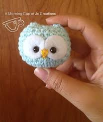 owl ornaments ravelry baby owl ornaments pattern by josephine wu