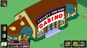 simpsons tapped out thanksgiving 2015 chief caesar s pow wow