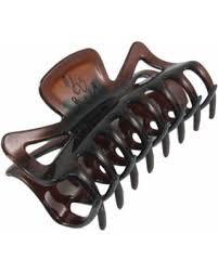 hair claw 50 women brown plastic cl hairclip hair