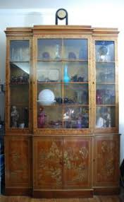 Drexel Heritage China Cabinet Drexel Heritage Pine Curio China Cabinet Glass Shelves French