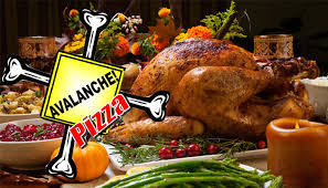 avalanche pizza unveils 8 thanksgiving themed pizzas