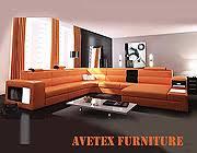 Polaris Sofa Rexona Orange Leather Sofa Sectionals