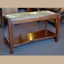How Tall Is A Piano Bench Rare Gustav Stickley Piano Bench For Sale Dalton U0027s American