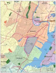 newark map editable newark nj city map illustrator pdf digital vector maps
