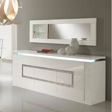 White Gloss Sideboard Cheap Garde Sideboard In White Gloss With Lights And Diamante White