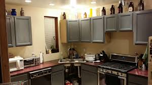 Kitchen Shelves Vs Cabinets Kitchen Stylish And Cool Gray Kitchen Cabinets For Your Home