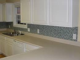 glass tile backsplash designs for kitchens coastal kitchen with a