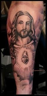 72 jesus tattoos for arm