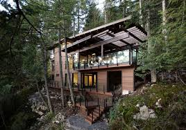 Home House Design Vancouver Water Facing Exterior Of Home Modern Exterior Vancouver By
