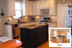 kitchen cabinet refinishing before and after before and after pictures refacing cabinets cabinet refacing