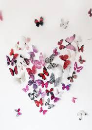 wall art butterflies home decor arrangement ideas superb lovely