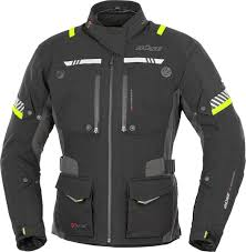 yellow motorcycle jacket buse sport büse toursport black neon yellow jackets textile