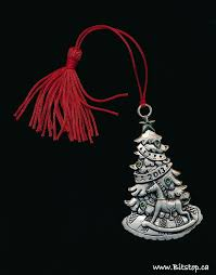 bitstop pewter ornaments
