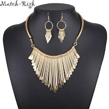 trendy necklace pendants images Quality ladies necklace alloy necklaces pendants tassel shiriza jpg