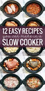 12 easy recipes you can make in a slow cooker veggie lasagna