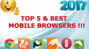 browser for android top 5 best mobile browsers for android device 2017 new browser