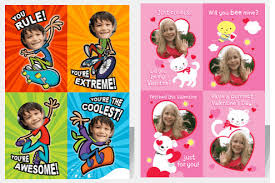 school valentines custom school valentines cards just 0 99 per sheet shipped