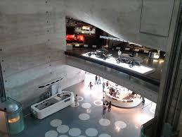 mercedes museum stuttgart interior interior desde un balcón picture of mercedes benz museum