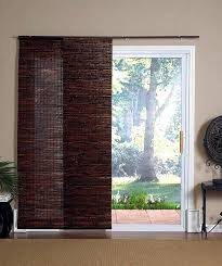Wooden Patio Door Blinds by Patio Door Wooden Blinds Interior Home Decor Blinds For Sliding