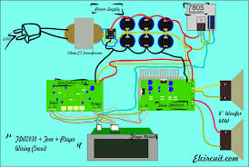 2 1 home theater circuit diagram assembling complete amplifier tda2030 electronic circuit