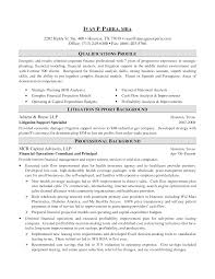 Sle Resume For A Banking investment banking resume exle exles of resumes