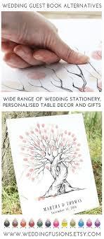 wedding guest keepsakes wedding tree ideas fingerprint trees make fantastic alternative
