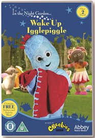 night garden wake igglepiggle dvd hmv store
