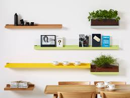 various unique modern wall mounted bookshelves chic color of