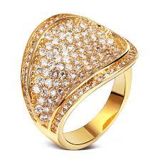 luxury gold rings images Luxury fashionable gold diamond ring designer engagement ring in jpg