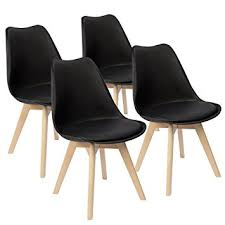 Side Chairs For Living Room Amazon Com Furmax Eames Style Chair Mid Century Modern Dsw