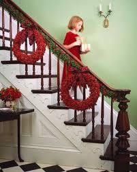 halloween staircase decorations christmas decorating ideas martha stewart