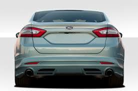 2013 ford fusion spoiler 109334 2013 2016 ford fusion duraflex racer rear lip