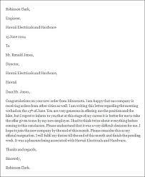 8 best images of formal resignation letter formal resignation