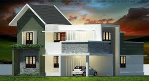 1800 square feet 4 bhk contemporary budget home design