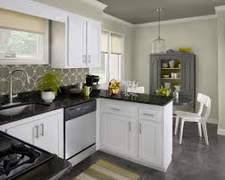 Kitchen Yellow Walls White Cabinets by 404 Error Kendall Charcoal Wall Stenciling And China Cabinets