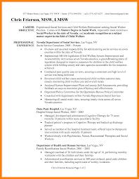 social work resume household assistant cover letter