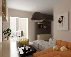 Marvelous Warm Colors Living Room Interior Design Ideas With Calm - New color for living room