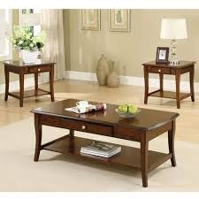 brown coffee table set accent table sets 24 7 shop at home