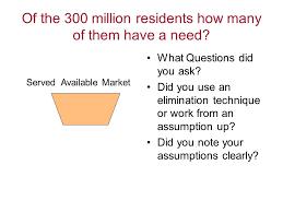 market sizing evaluating the opportunity of management