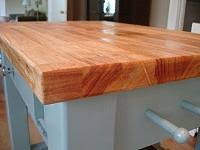 how to clean and oil butcher block for use in the kitchen