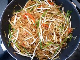 cuisiner les germes de soja nouilles sautées aux germes de soja marlyzen cuisine revisitée