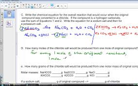 100 chemical reactions study guide a answers effect of